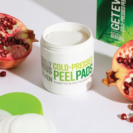 Naturally Serious Get Even Cold Pressed Peel Pads
