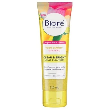 Biore Clear & Bright Jelly Cleanser Face Wash